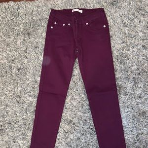 Levi's girls skinny jeans . Used once